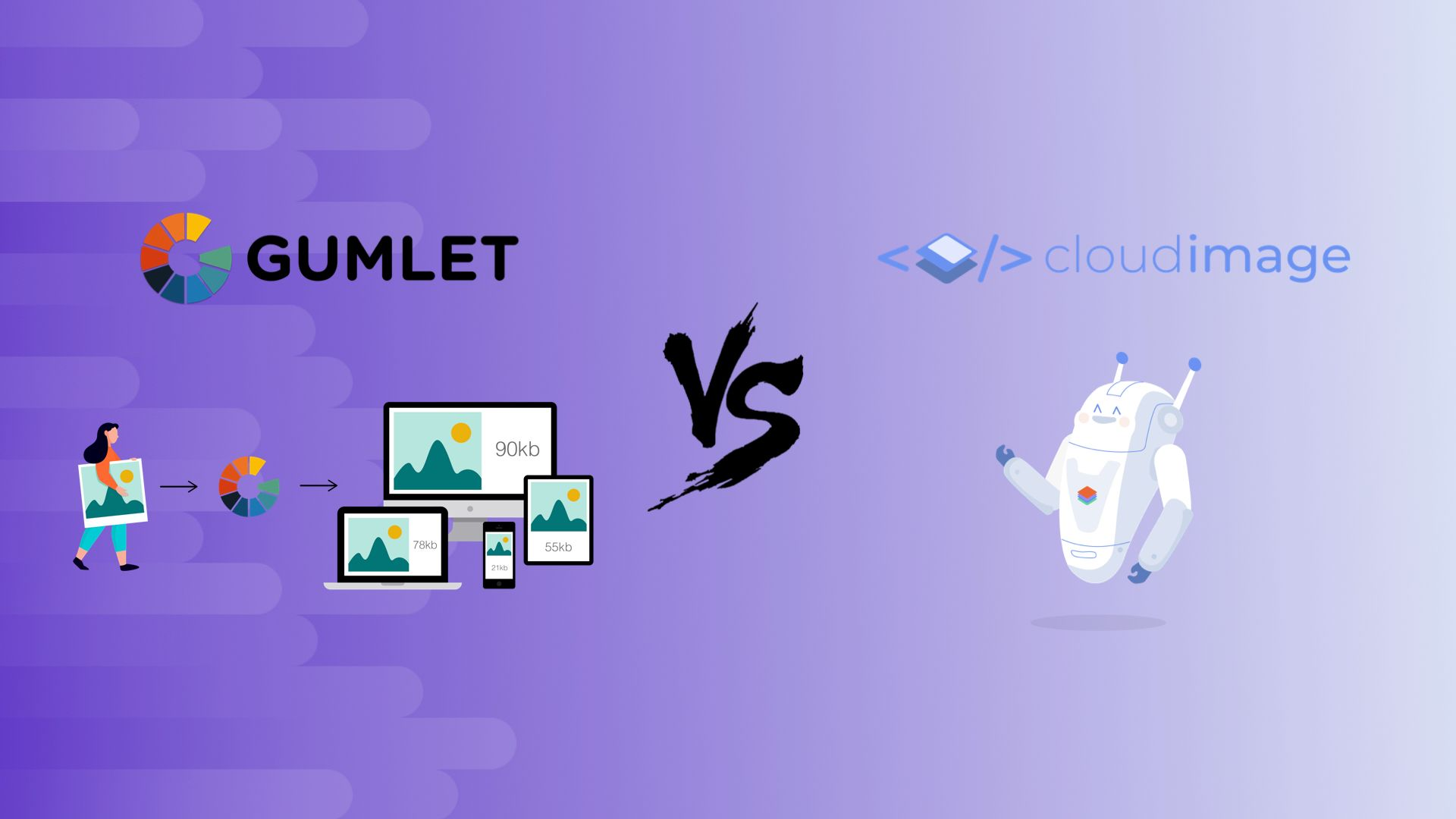 Gumlet vs Cloudimage - Which image optimisation LTD should you choose?